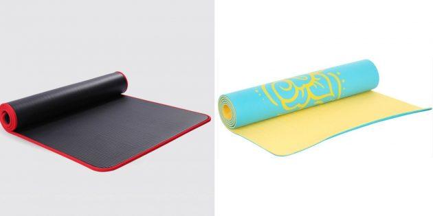 Что подарить маме на день рождения: коврик для йоги