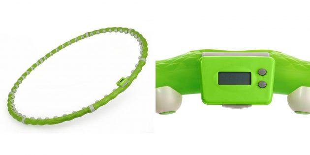 Что подарить маме на день рождения: обруч со счётчиком калорий