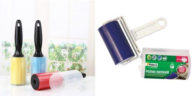 Что подарить маме на день рождения: силиконовый ролик для удаления шерсти и пыли