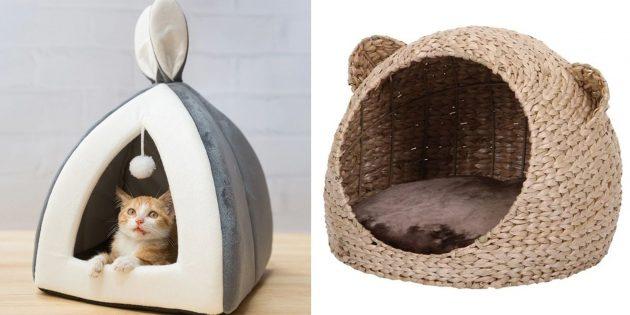 Что подарить маме на день рождения: уютный домик для питомца