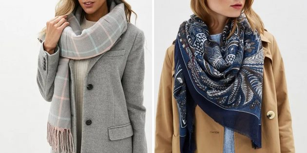 Что подарить маме на день рождения: красивый платок или шарф