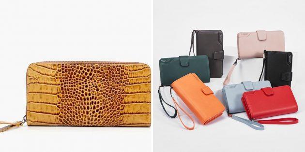 Что подарить маме на день рождения: яркий кошелёк или клатч