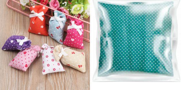 подарок бабушке на день рождения: ароматические подушечки