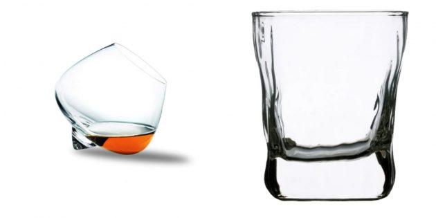 Подарок папе на день рождения: стильные бокалы или стаканы