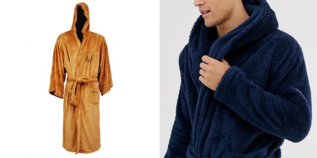 Подарок папе на день рождения: домашний халат