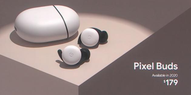 Google анонсировала новые TWS-наушники Pixel Buds с активным шумоподавлением