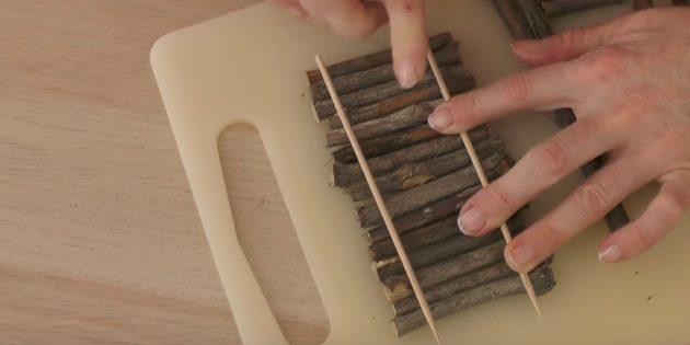 Поделки из тыквы: соберите часть лестницы