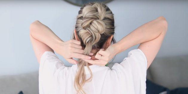 Причёски на длинные волосы: сделайте третий пучок
