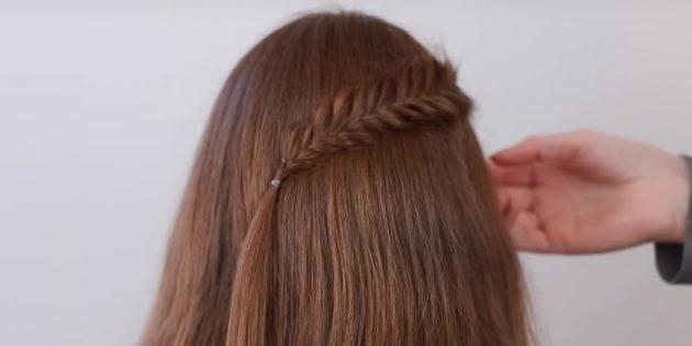 Причёски на длинные волосы: закрепите косу