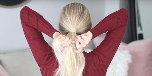Причёски на длинные волосы: отделите прядки