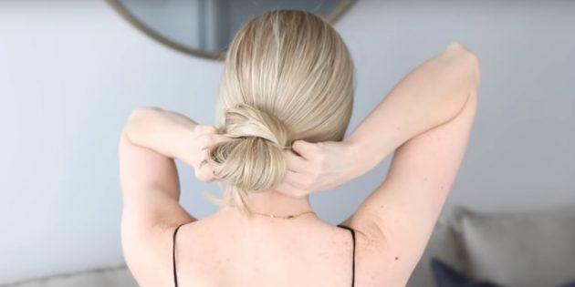Причёски на длинные волосы: спрячьте кончик