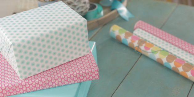 Как упаковать прямоугольный подарок классическим способом