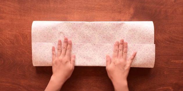 Склейте бумагу