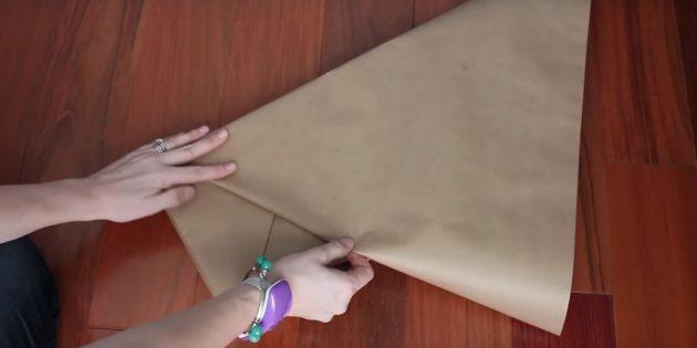 Загните бумагу