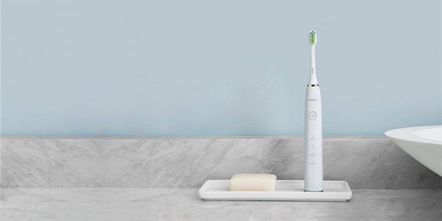 Meizu анонсировала уникальную звуковую зубную щётку. С неё не сползает паста