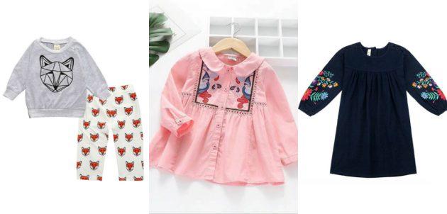 Где купить детскую одежду: Aile Rabbit