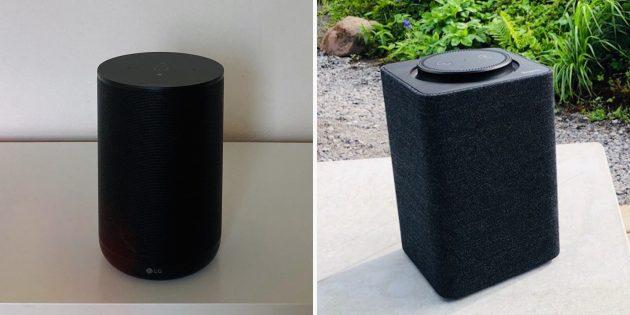 LG XBOOM: сравнение с «Яндекс.Станцией»