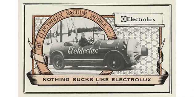 рекламный слоган Electrolux