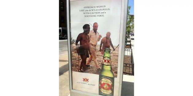 реклама пива Dos Equis