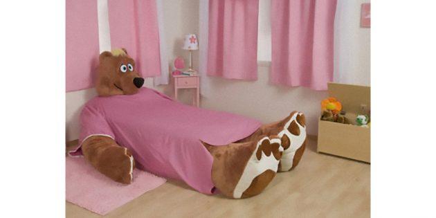 кровать-медведь