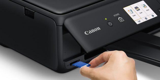 Принтер с кардридером и USB-портом