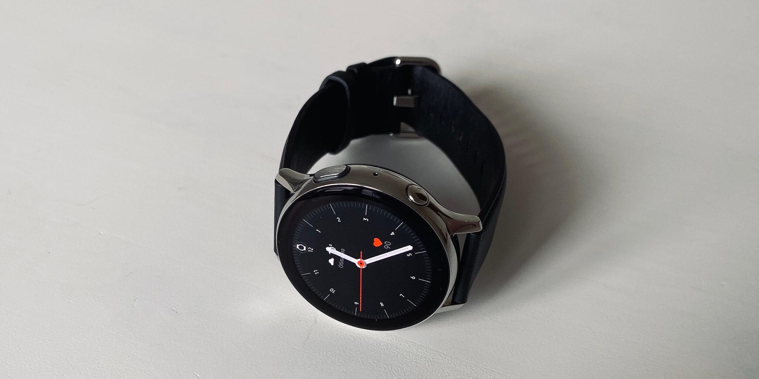 Samsung Galaxy Watch Active 2: стандартный циферблат