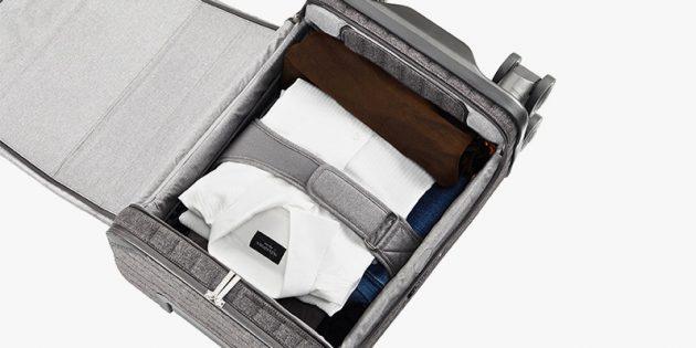 Штука дня: RolloGo Escape S — умный чемодан, которой заряжает сам себя