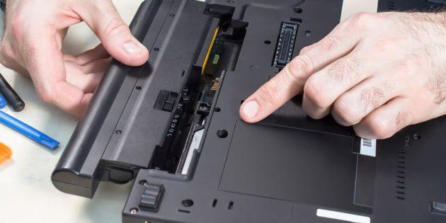 Что делать, если не заряжается ноутбук с Windows или Linux: Выполните инициализацию батареи
