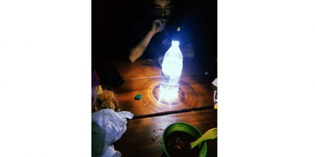 простые лайфхаки с фонариком
