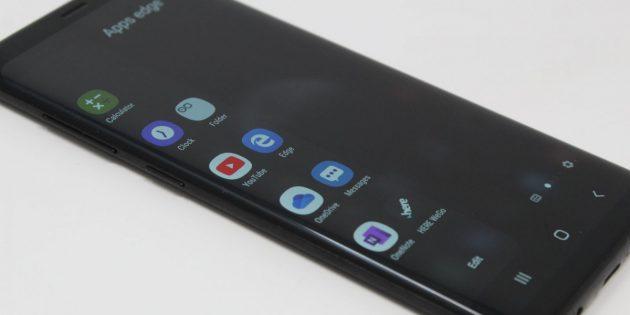 Выдвижная панель, которой гордится Samsung