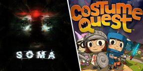 Epic Games Store раздаёт хоррор SOMA и хеллоуинское приключение Costume Quest