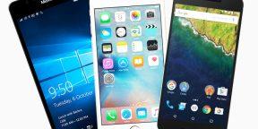 Видео дня: рост популярности мобильных операционных систем за последние 20лет