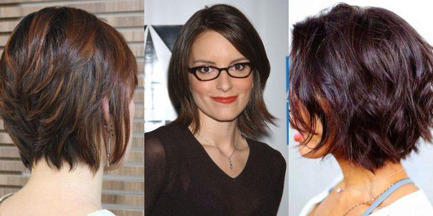женские стрижки на короткие волосы: укороченный каскад с текстурными кончиками