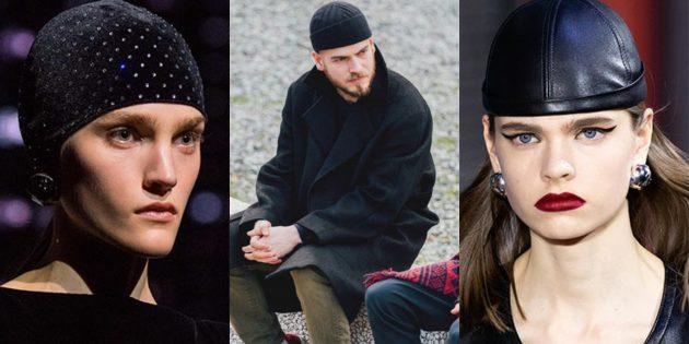Модные шапки-колпаки — 2019–2020