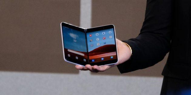 Microsoft представила складные Surface Neo и Duo