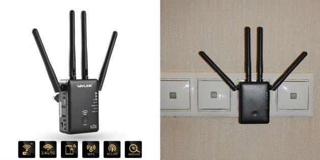 Wi-Fi-репитер от Wavlink