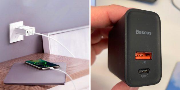 Зарядное устройство от Baseus