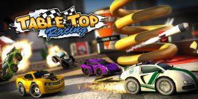 В Google Play раздают микрогонки Table Top Racing Premium