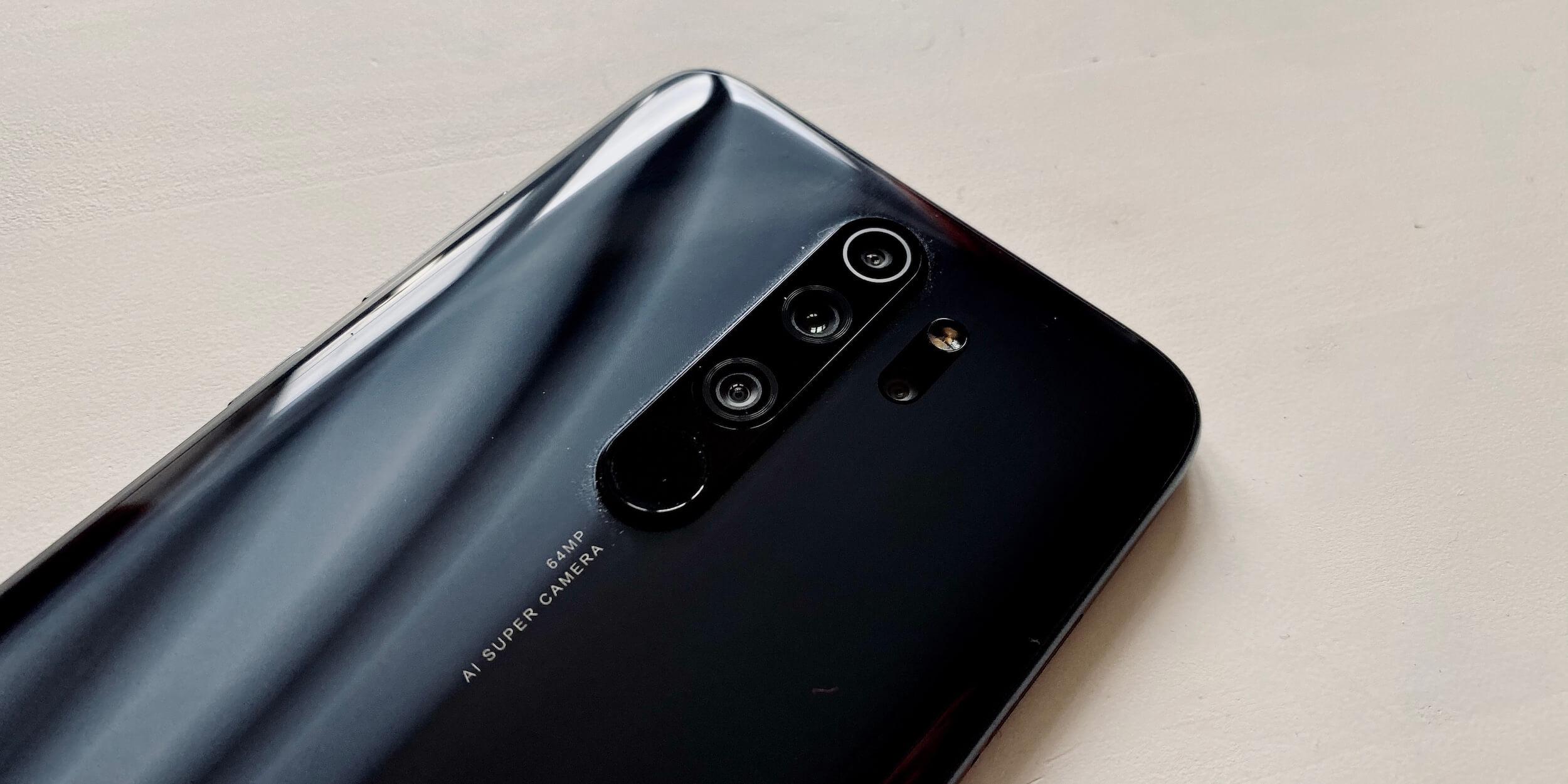 Redmi Note 8Pro: Камеры