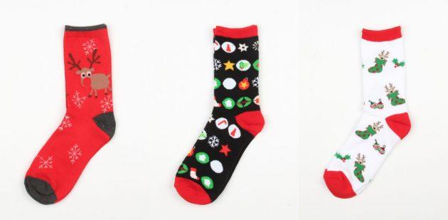 Товары с AliExpress для создания новогоднего настроения: Носки