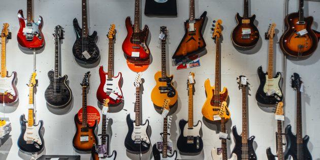 Винтажные японские и американские гитары