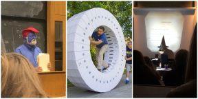 Когда учитель с юмором: 15 ярких фото из школ и институтов