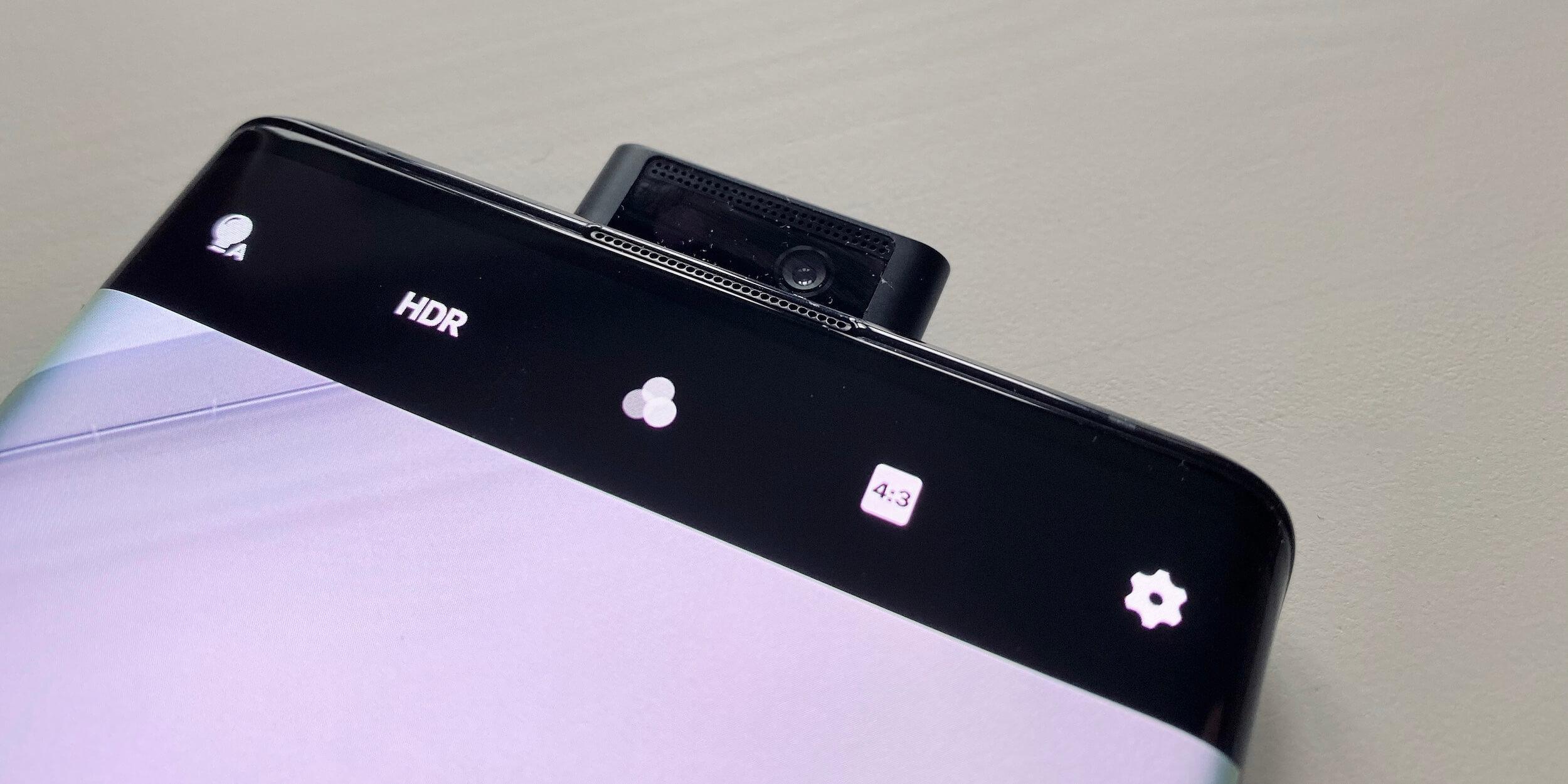 Vivo NEX 3: Фронтальная камера
