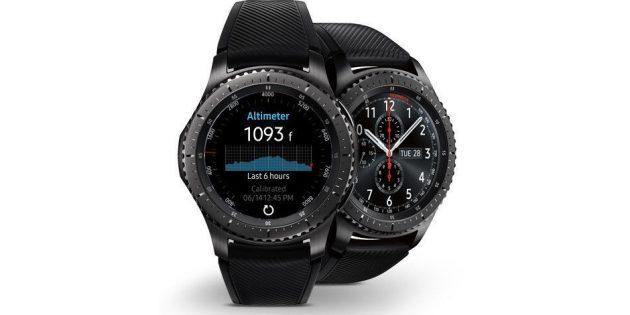 умные часы Samsung Galaxy Gear S3 Frontier