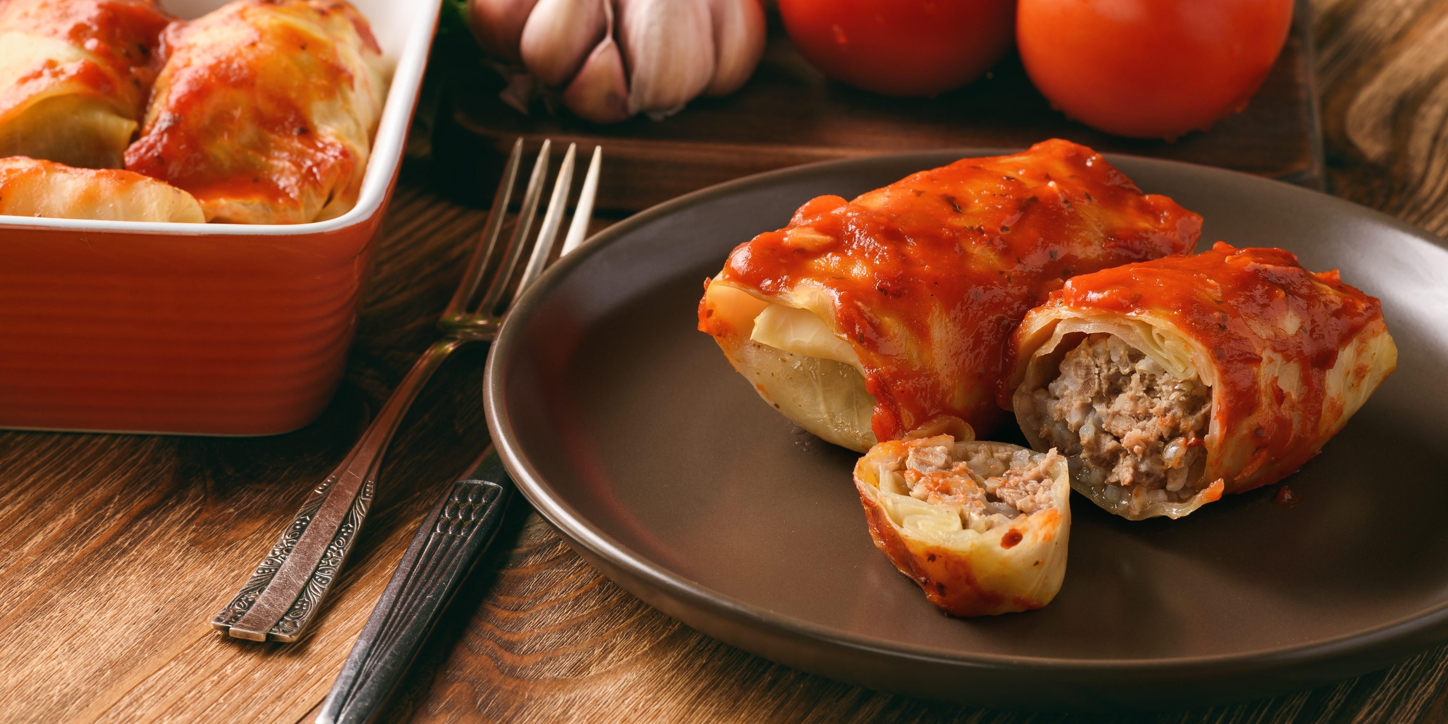 Голубцы и томатная паста