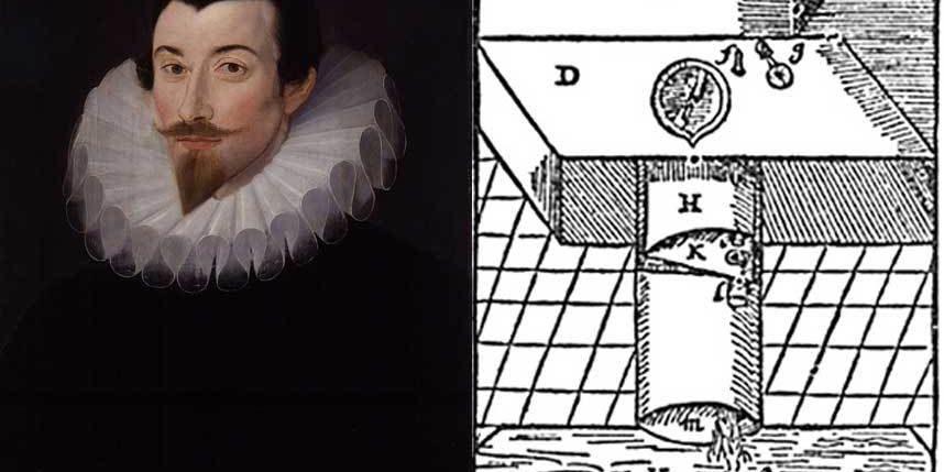 История туалета: Сэр Джон Харрингтон и его изобретение