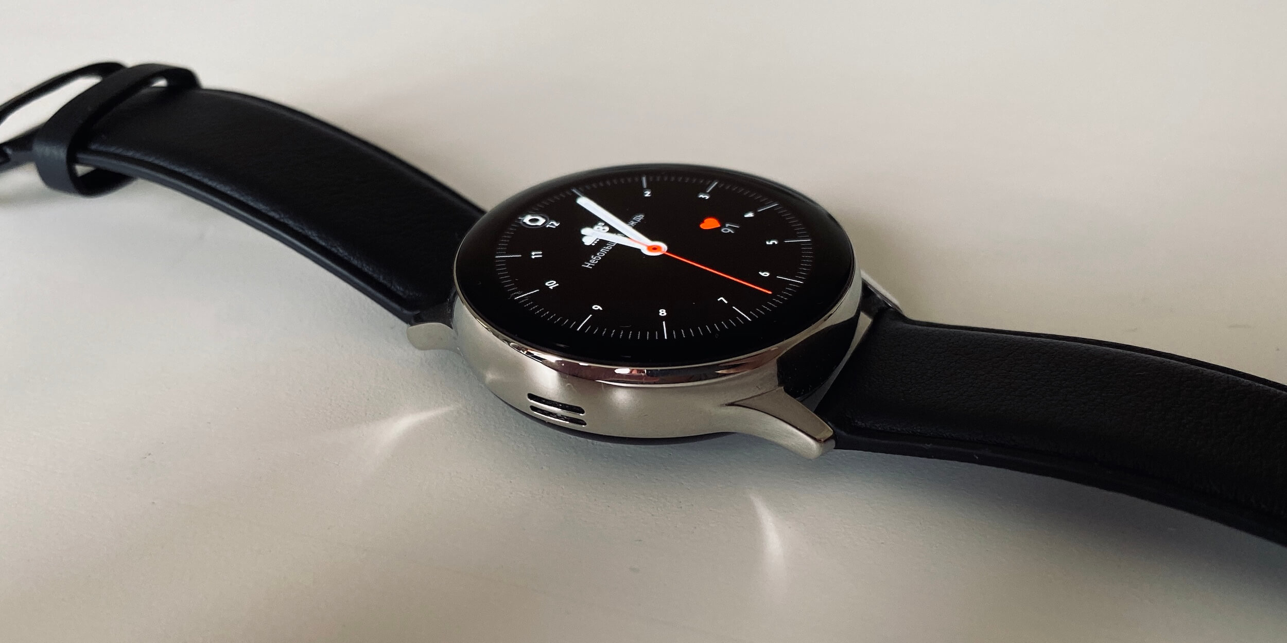 Samsung Galaxy Watch Active 2: Стальная версия