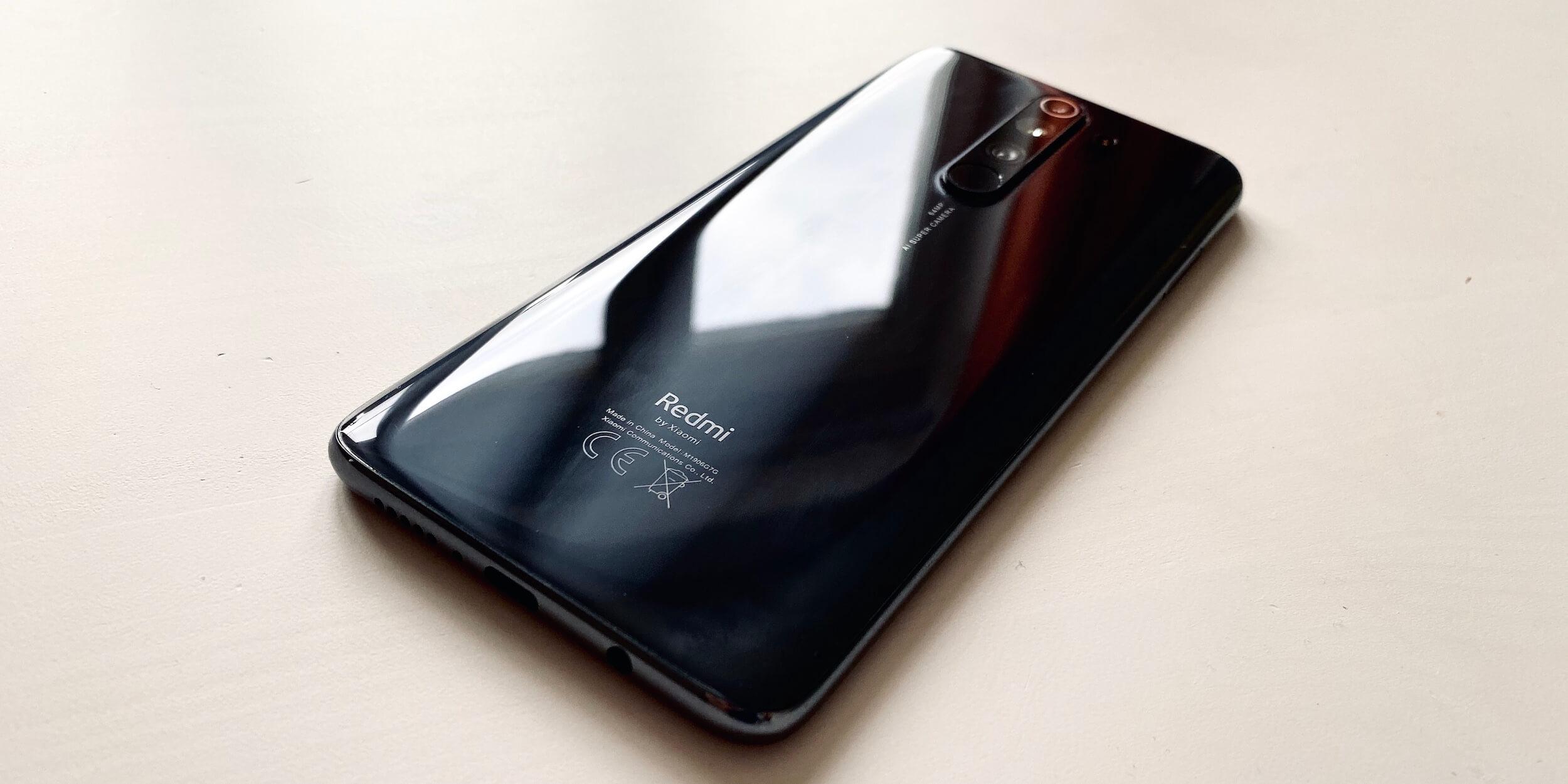 Redmi Note 8Pro: Задняя панель