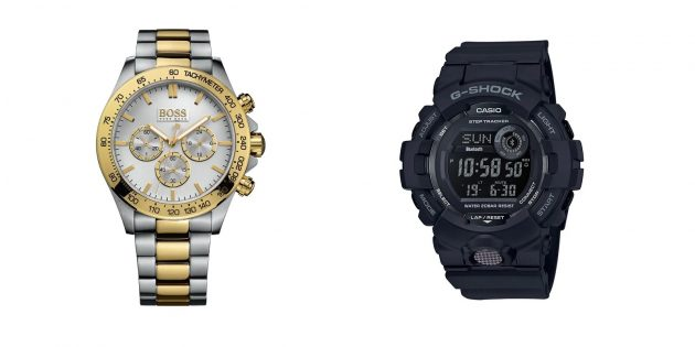 Подарки парню на Новый год: наручные часы