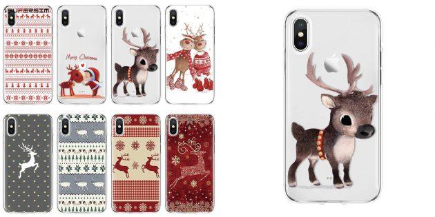 Недорогие новогодние подарки: чехлы для смартфонов